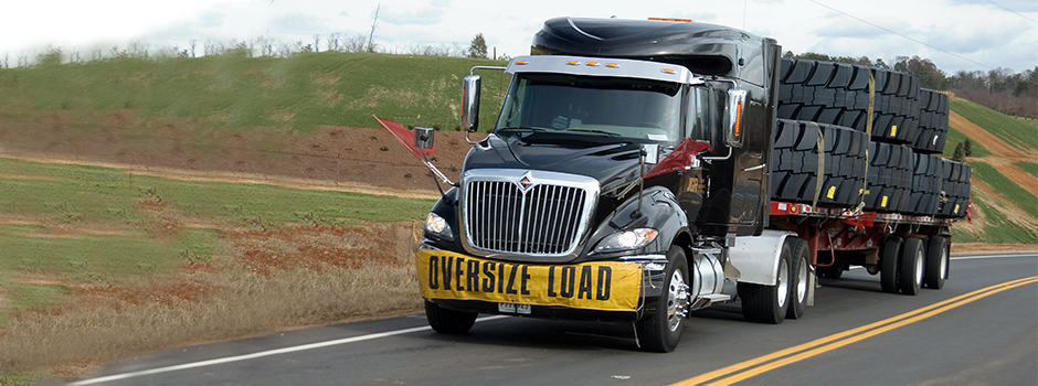 oversize load semi
