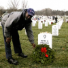 Charlie Walker of Boyd Bros. Transportation at Arlington Cemetary