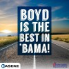 Boyd Best in 'Bama