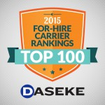 The 2015 Transport Topics – Top 100 List has Daseke Solidly Ranked as the No. 2 Largest Flatbed/Specialized Carrier in North America