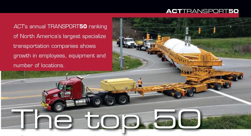 Daseke No 2 in 2015 American Cranes & Transport Top 50