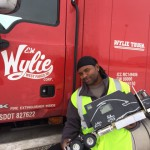 E.W. Wylie Driver Brian Matthews and His Woodworking Shop on Wheels