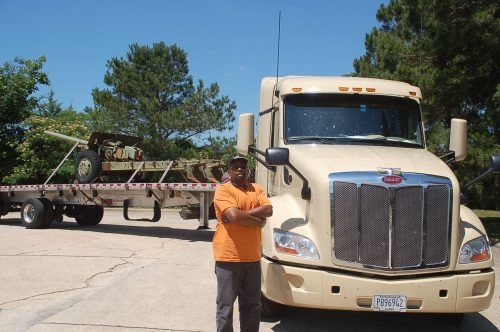 Allen Rush, driver for Hornady Transportation