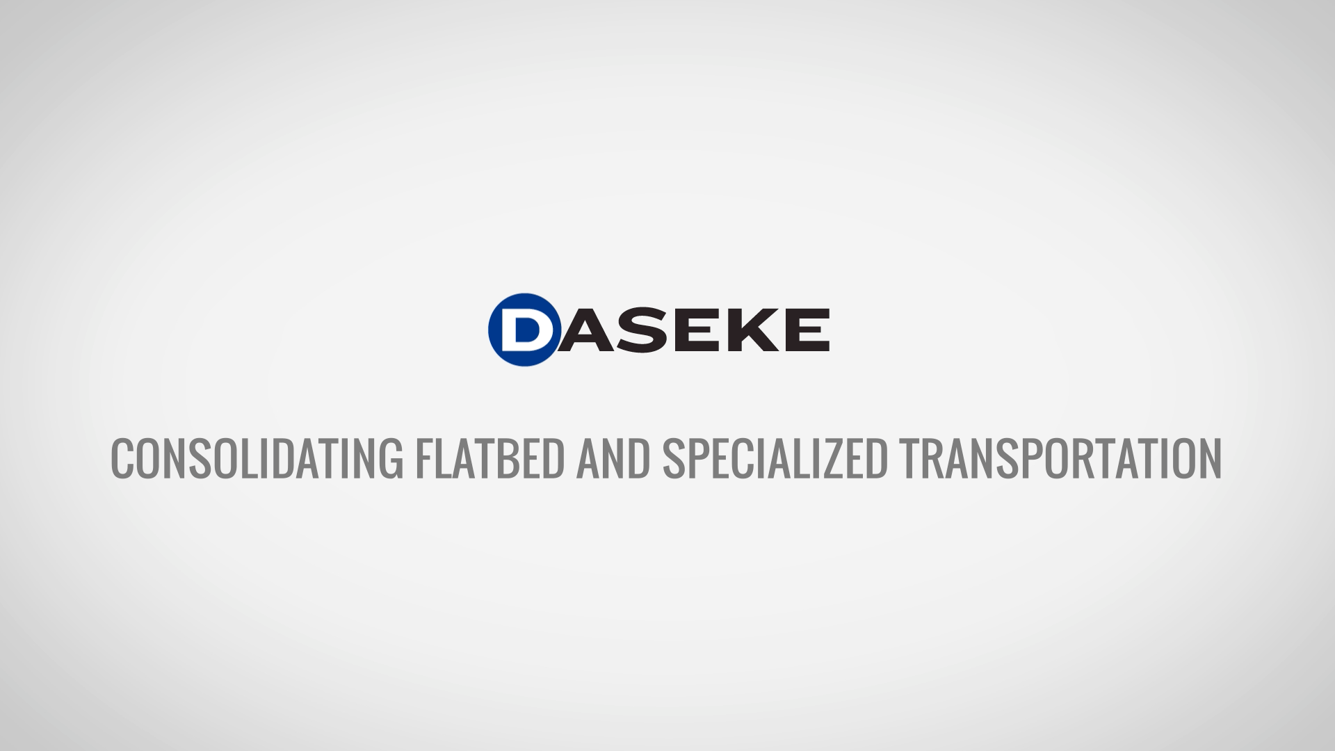 Consolidating Flatbed and Specialized Transportation